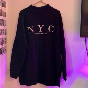 H&M Long Sweater NYC